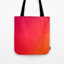 Red Dragon Scale Ombre Design! Tote Bag