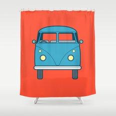#53 Volkswagen Type 2 Splitscreen Bus Shower Curtain