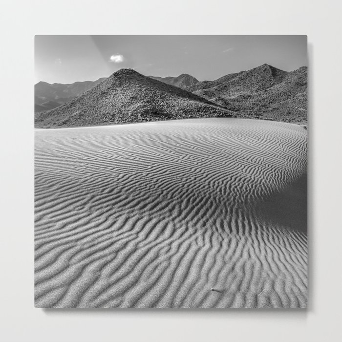 Windy traces. Past dreams Metal Print