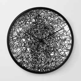 Twisted Metal Wall Clock
