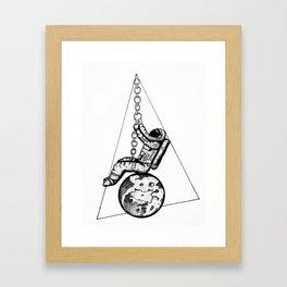 Wrecking ball Framed Art Print