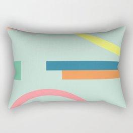 Modern Geometric 71 Rectangular Pillow