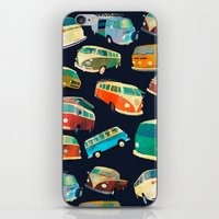 volkswagon iPhone & iPod Skins featuring Kombi Heaven by Buster Fidez