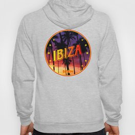 Ibiza, summer sunset, circle Hoody