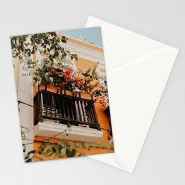 Un Balcón del Viejo San Juan Stationery Cards
