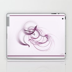 Lavender Swirls Laptop & iPad Skin