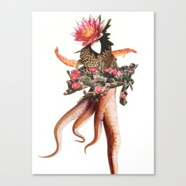 Shrimp Hands, 2016 Canvas Print