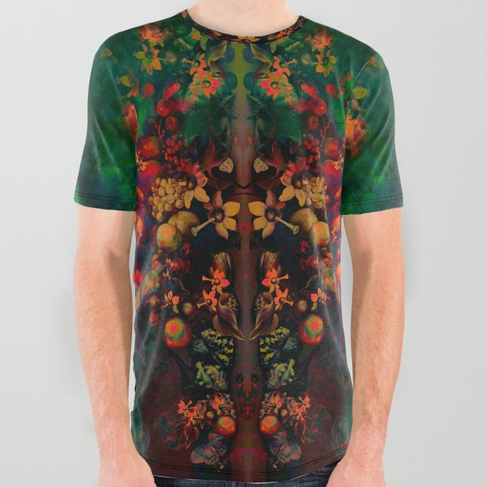 """""""Sci-fi Spring Still Life"""" All Over Graphic Tee"""