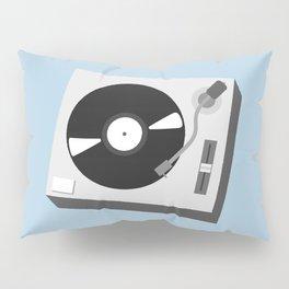 Turntable Illustration Pillow Sham