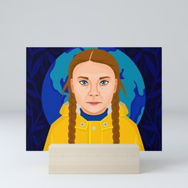 Greta Thunberg Mini Art Print