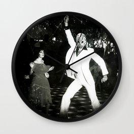 JASON VORHEES AS JOHN TRAVOLTA Wall Clock