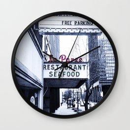 La Paree Wall Clock