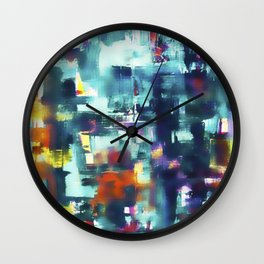 Energy No. 3 Wall Clock