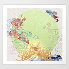 Biomorphic Art Print