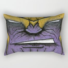 The Mad Titan Rectangular Pillow