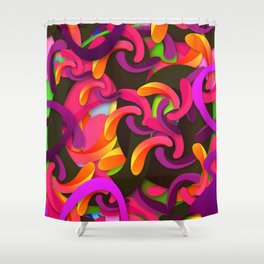 Good Vibes (Feat. Roberlan Borges) Shower Curtain