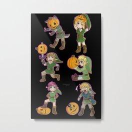 Pumpkin Cheebs Metal Print