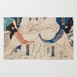 Utagawa Kuniyoshi - Battle Rug