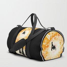 Fire Sky Duffle Bag