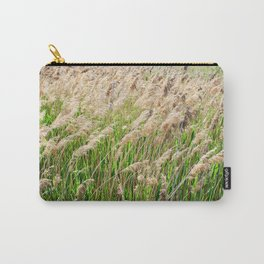 Blooming foxtail in summer sunny day Carry-All Pouch