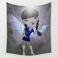 princess Wall Tapestries featuring Princess by FreelanceDesigning