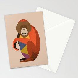 Orang Utan Stationery Cards