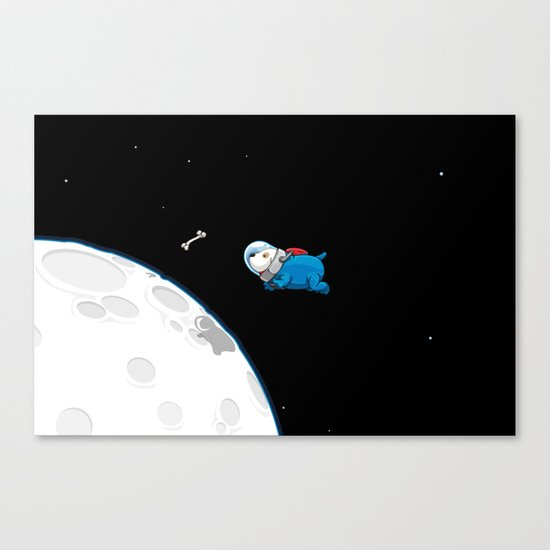 Spacedoggy Canvas Print
