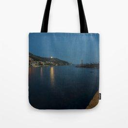 Dubrovnik Moonrise Tote Bag