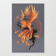 The Avian Arsonist Canvas Print