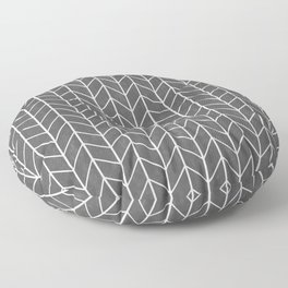 Herringbone Pattern Floor Pillow
