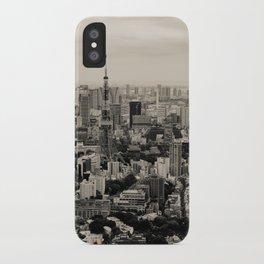 Sepia Tokyo iPhone Case