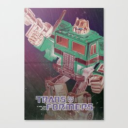 The Transformers / Optimus prime Canvas Print