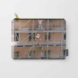 Men On Scaffolding Carry-All Pouch