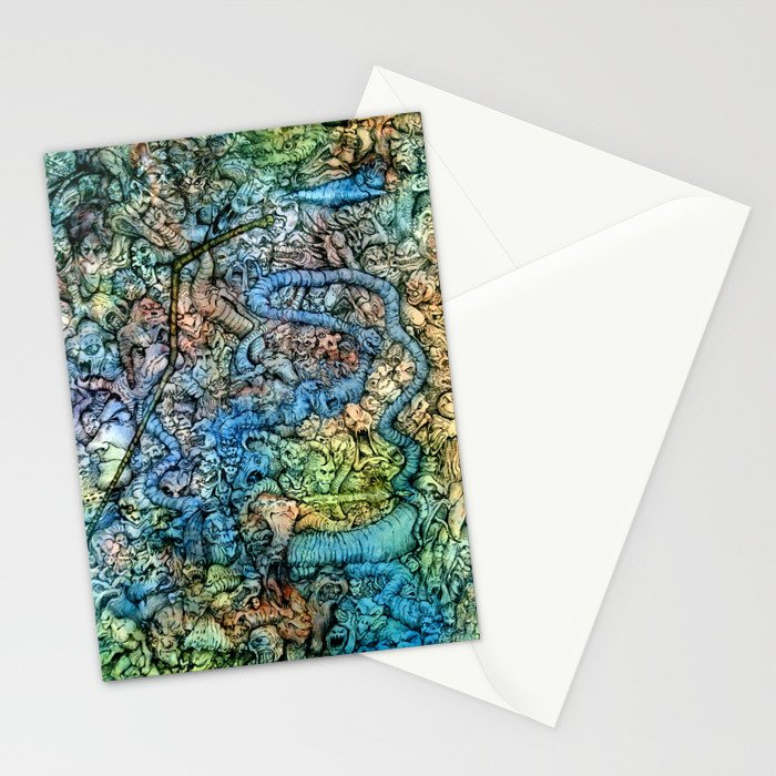 Autumn in Hell Stationery Cards