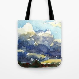Rain in the Desert Tote Bag