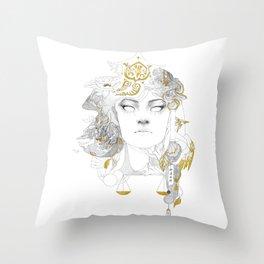 Korra II Throw Pillow