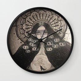 She Brings The Night Wall Clock