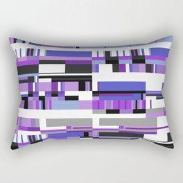 Debussy Little Shepherd (Purples) Rectangular Pillow