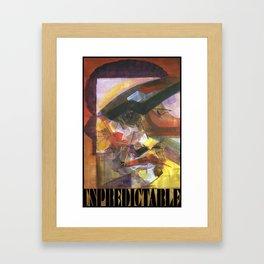 ASP#8: Unpredictable Framed Art Print