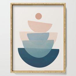 Abstract Minimal Shapes 31 Serving Tray