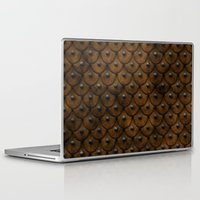 leather Laptop & iPad Skins featuring Leather Armor by SShaw Photographic