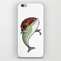 whales iPhone & iPod Skins featuring Whales by green penguin