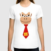 donkey kong T-shirts featuring Donkey Kong Face Vector by SOULTHROW
