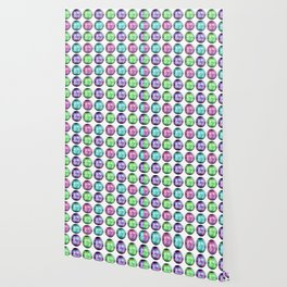 Crystal Ball Pattern Wallpaper