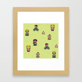 Earthbound - Mother 2 Framed Art Print