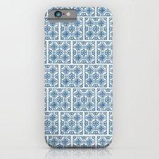 Blue Tile Pattern No. 3 Slim Case iPhone 6s