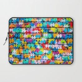 Rainbow Puzzle Laptop Sleeve