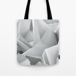 White Noiz Tote Bag