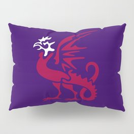 Myths & monsters: basilisk Pillow Sham