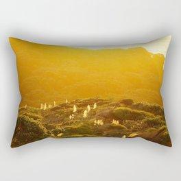 Muriwai at Dusk Rectangular Pillow